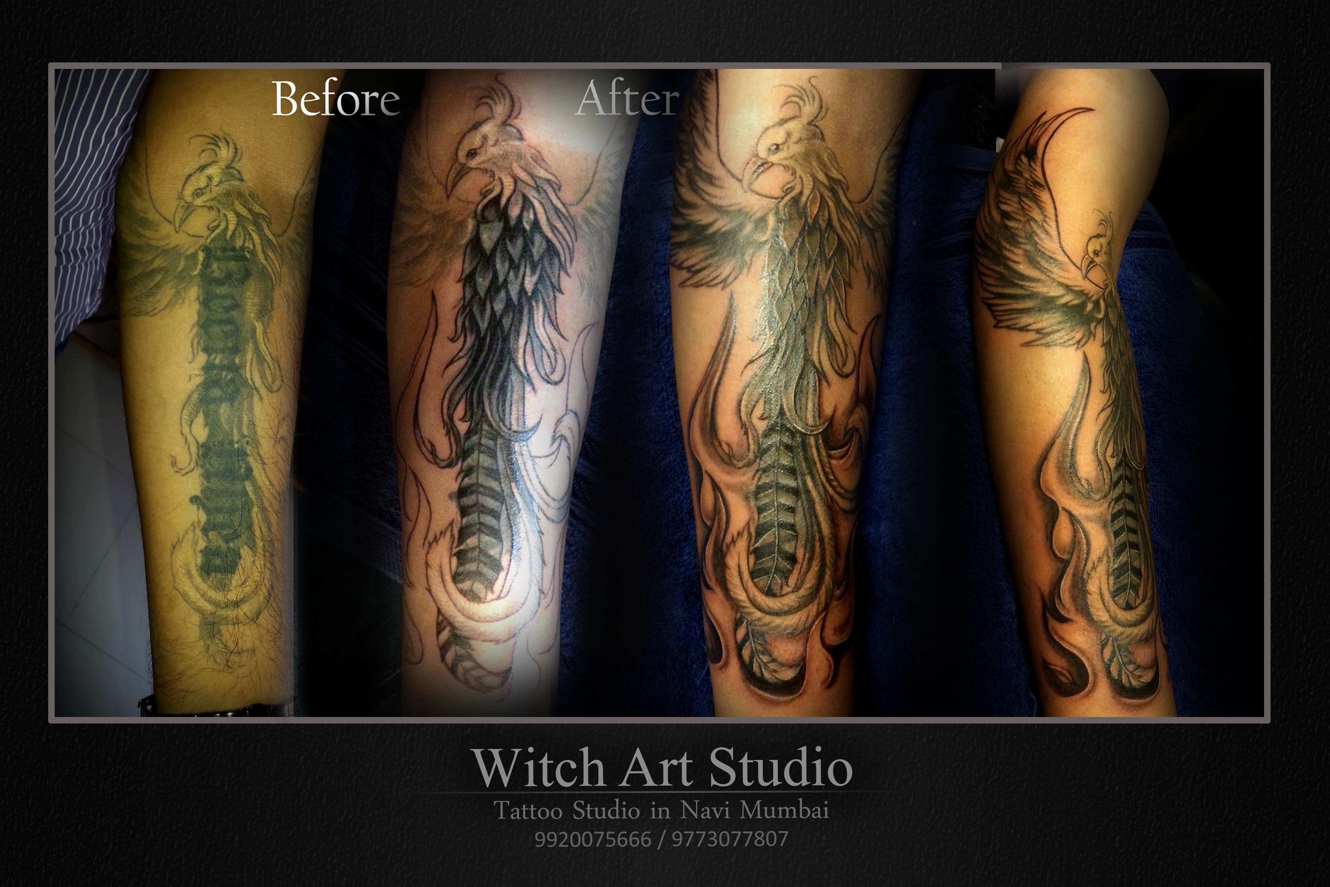 Customized Coverup Tattoos